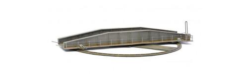 dapol C013 Platform Fittings//Fences /& Lamps