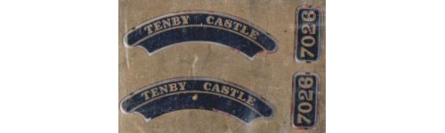 Castle. King & County Class GWR Nameplates