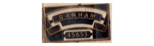 LMS 4-6-0 Jubilee Class Nameplates