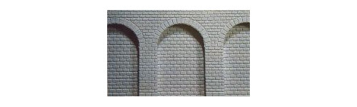 Z Gauge Merkur Arches, Retaining Walls & Tunnel Portals