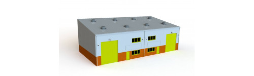 Wills 4mm Modern Modular Kit System (HO/OO Gauge)