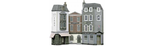 Series C - Low Relief Buildings